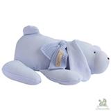 Naninha Chamomilla Cachorro em Algodão Orgânico Azul Bebê
