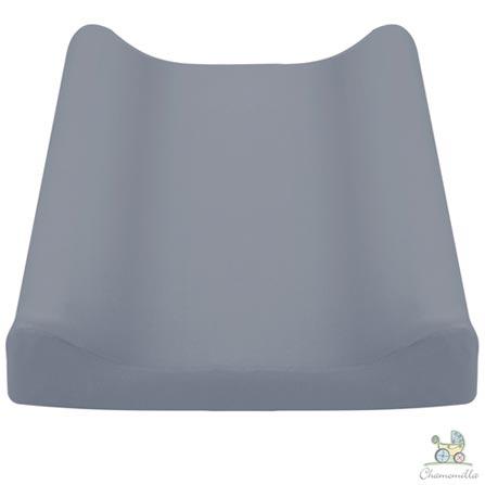 Almofada de Amamentacao Azul +Trocador Azul +Rolos Protetores Azul +Toalha de Banho Jeans +Bandeirinhas Jeans Chamomilla, 1