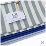 Envelope para Maternidade com 06 Peças Azul - Chamomilla