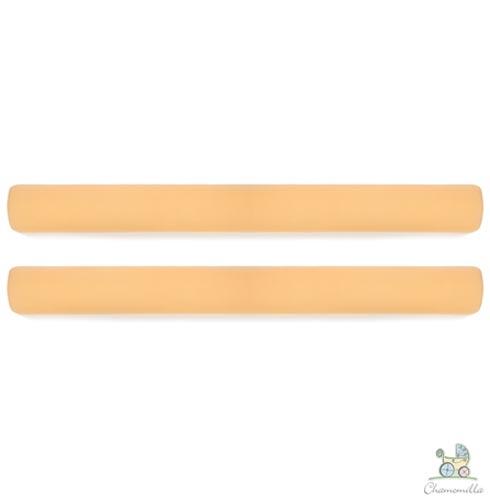 Kit de Rolos Protetores de Berço com 02 Unidades Amarelo - Chamomilla, Amarelo, Algodão e EPS, 03 meses