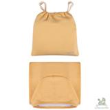 Toalha de Banho com Capuz Amarela - Chamomilla