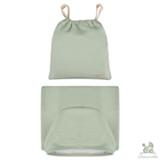 Toalha de Banho com Capuz Verde - Chamomilla