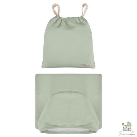 Toalha de Banho com Capuz Verde - Chamomilla, Não se aplica, 03 meses