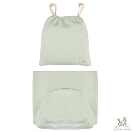 Toalha de Banho com Capuz Verde Bebê - Chamomilla, Não se aplica, 03 meses