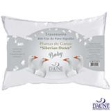 Travesseiro de Pluma de Ganso 30x40 cm Branco - Daune