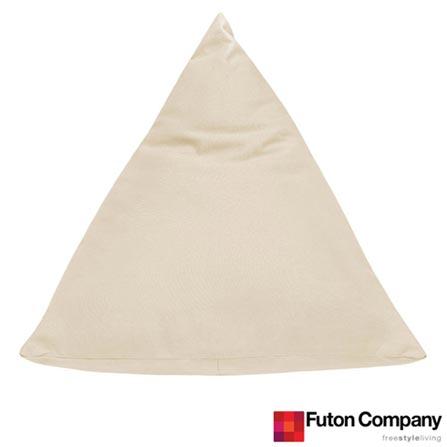 Almofada Berlingot Cru - Futon Company, Bege, Algodão e Fibra siliconada, 03 meses