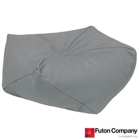 Almofada Diams 35 Sarja City - Futon Company, Cinza, Algodão e Fibra siliconada, 03 meses