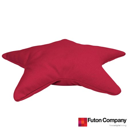 Almofada Star Sarja Ciclamen Pink - Futon Company, Pink, Algodão e Fibra siliconada, 03 meses
