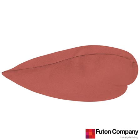 Almofada Je t'aime Sarja Porcelana Rosa - Futon Company, Rosa, Algodão e Fibra siliconada, 03 meses
