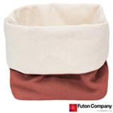 Cesto Basket P com 2,5 Litros Porcelana Rosa - Futon Company