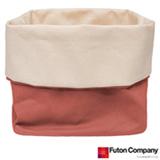 Cesto Basket M Futon Company com 6,8 Litros Porcelana Rosa
