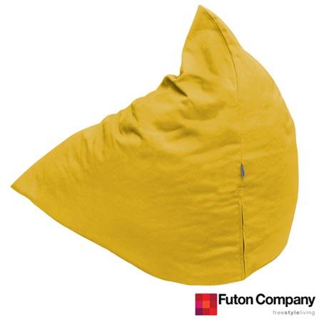 Pufe Berlingot 99 Sarja Mimosa Amarelo - Futon Company, Amarelo, Não especificado, Sarja Peletizada 100% Algodão, Não especificado, 03 meses