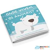 Livrinho para Banho Multikids Baby - Onde Vivem os Animais?