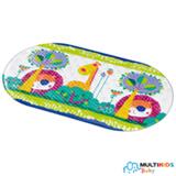 Tapete para Banho Multikids Baby Safe Bath em PVC Transparente