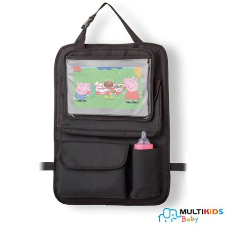 Organizador para Carro Multikids Baby com Case para Tablet Store N Whatch, Poliéster, 03 meses