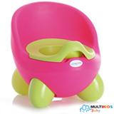 Troninho 2 em 1 Multikids Baby Learn Style Rosa e Verde