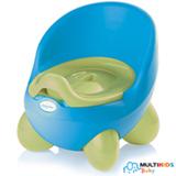 Troninho 2 em 1 Multikids Baby Learn Style Azul e Verde