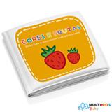 Livrinho para Banho Multikids Baby - Cores e Frutas