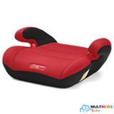 Assento para Auto Safe Booster Vermelho - Multikids Baby