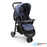 Carrinho de Bebê Agile Jeans - Multikids - BB527