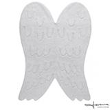 Tapete Infantil Lorena Canals Silhouette Wing em Algodão Branco