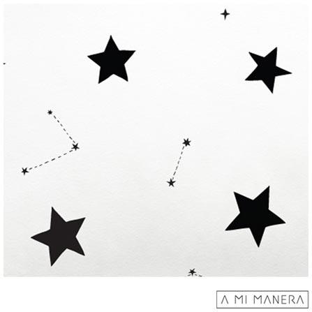 , Branco e Preto, Algodão, 03 meses