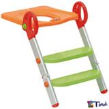 Redutor de Assento Toily Vermelho, Verde e Laranja - Tinok