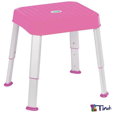 Banquinho Multitarefas Stooli Pink - Tinok, Pink, Plástico, Não se aplica, 06 meses