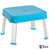 Banquinho Multitarefas Stooli Azul Turquesa - Tinok