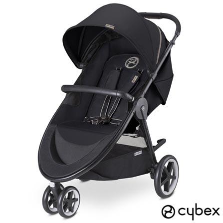 Carrinho de Bebê Agis M-Air 3 Preto - Cybex, Preto, Aluminio, Polietileno e Tecido, 0 a 4 anos, 17 kg, 24 meses