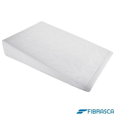 Almofada Adulto Antirrefluxo Branco - Fibrasca, Branco, 03 meses
