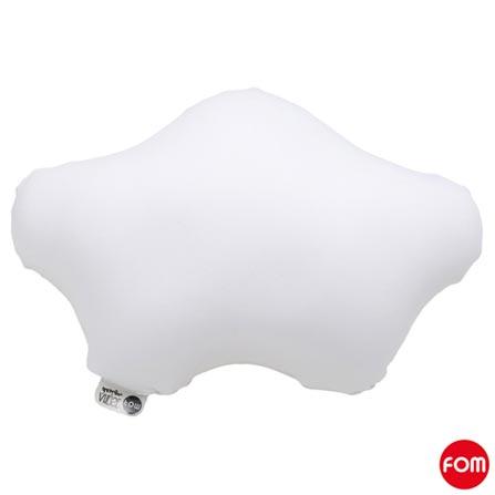 Almofada Nuvem Pepe Cinza - Fom + Almofada Nuvem Didi Branca - Fom, 1