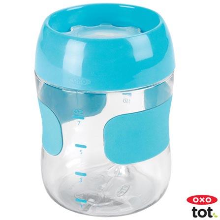 Copo para Treinamento 210 ml Azul - Oxo Tot, Azul, Plástico, 0,21 Litros, Não especificado, 12 meses