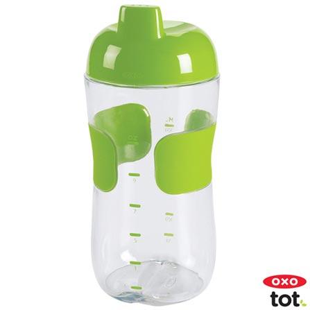 Copo Anti-Vazamento Tot 330 ml Verde - Oxo Tot, Verde, Plástico, 0,33 Litros, Não, 12 meses