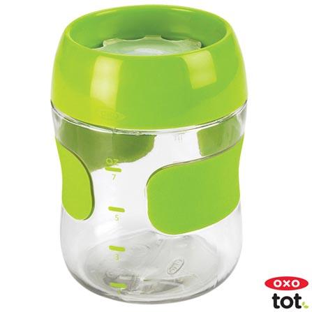 Copo para Treinamento 210 ml Verde - Oxo Tot, Verde, Plástico, 0,21 Litros, Não especificado, 12 meses