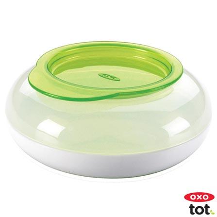 Pote para Lanche com Tampa 180 ml Verde - Oxo Tot, Verde, Plástico, 1, Não, 12 meses