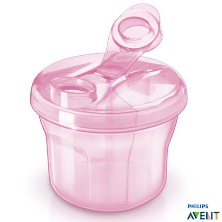 Dosador para Leite em Pó Rosa SCF135/07 - Philips Avent, Rosa, Polipropileno, 1, 03 meses