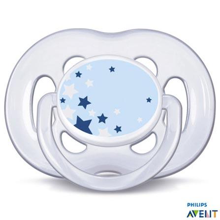 , Azul, Silicone, de 6 a 18 meses, 03 meses