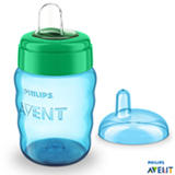 Copo Infantil Easy Sip Cup 260 ml Azul - Philips Avent