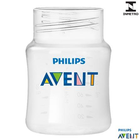 Mamadeira Classic+ 125 ml - Philips Avent, Não se aplica, Polipropileno, 0,12 Litros, 03 meses
