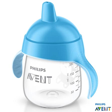 , Azul, Polipropileno, 0,26 Litros, Não especificado, 03 meses