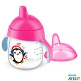 Copo com 260 ml Rosa Pinguim SCF75307 - Philips Avent
