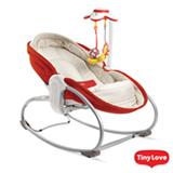 Cadeira de Descanso 3 em 1 Red para Bebês até 18 kg - Tiny Love