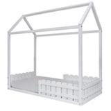 Mini Cama Casinha Baixa Lúdica Branca - Idea Kids