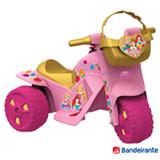 Moto Elétrica 6V Disney Princesas Rosa - Bandeirante