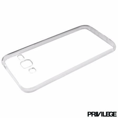 Capa Protetora Privilege para Galaxy J3 em TPU - PRIVCJ3CLR, Não se aplica, Capas e Protetores, TPU, 06 meses
