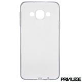 Capa Protetora Privilege para Galaxy J5 em TPU - PRIVCJ5CLR