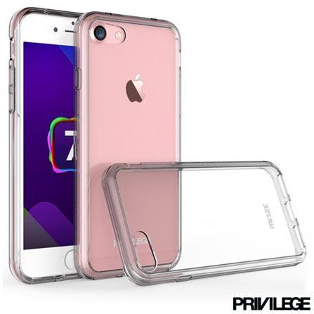 Capa Protetora Rígida Pelican para iPhone 6S com Fechamento pelas Laterais em Plástico – Privilege - PRIVCPIP6SCLR, Não se aplica, Capas e Protetores, 06 meses