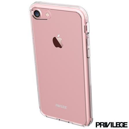 Capa Protetora Rígida Pelican para iPhone 6S Plus com Fechamento pelas Laterais em Plástico - Privilege - PRIVCPIP6SPCLR, Não se aplica, Capas e Protetores, 06 meses