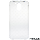 Capa para Moto G4 Plus de TPU Transparente - Privilege - PRIVG4PCLR